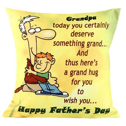 Grandpa Cushion