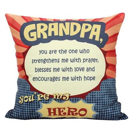 Grandpa Printed Cushion