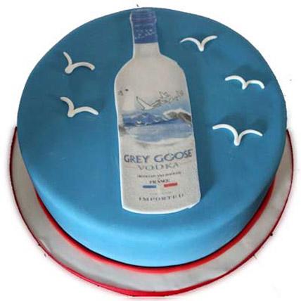 Grey Goose Cake 3kg Eggless
