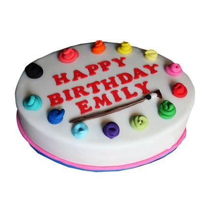 Happy Birthday Artist Cake 4kg