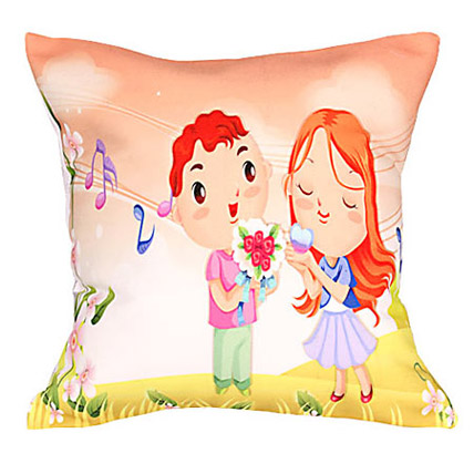 Happy Couple Cushion