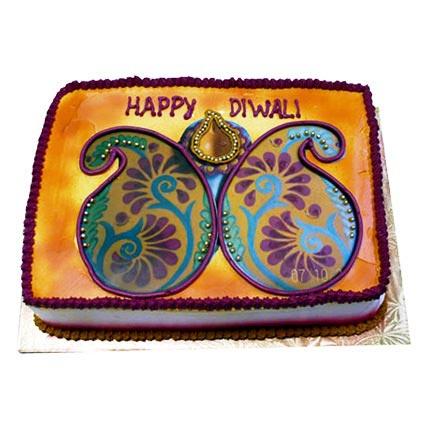 Happy Deepavali Cake 4kg Eggless