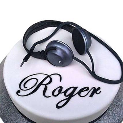 Headphone Cake 3kg Eggless