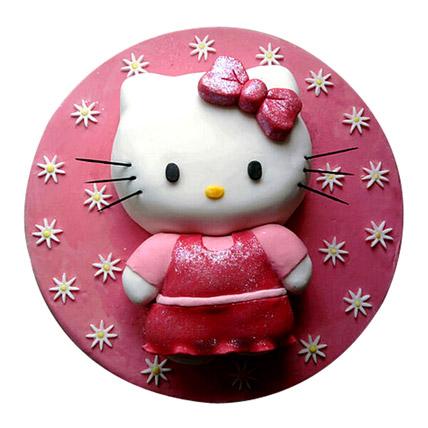 Hello Kitty Cake 3kg Eggless