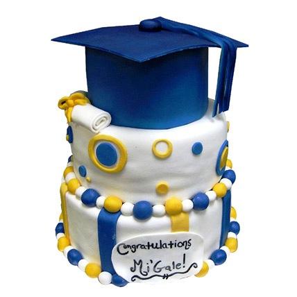 High School Graduation Cake 5kg Eggless