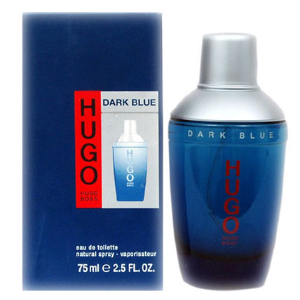 HUGO DARK BLUE EDT Spray 75ML