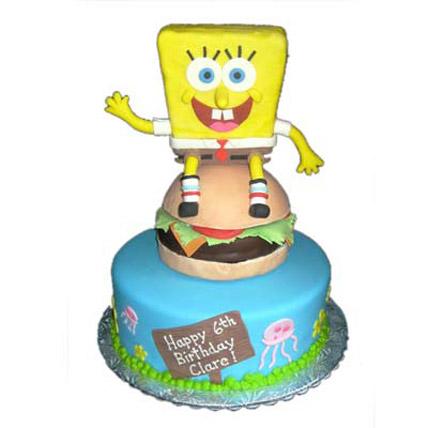 Hungry Spongebob on Burger 4kg