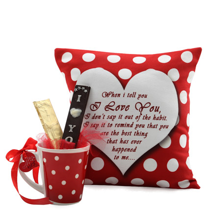 I Love You Valentine Hamper