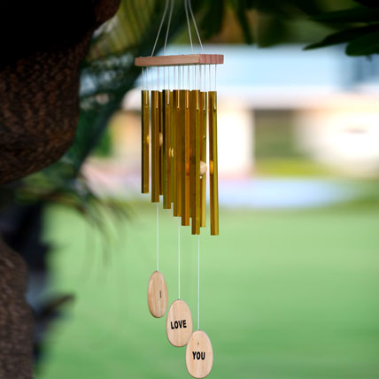 I Love You Wind Chime
