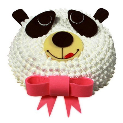 In Love With Panda Cake 2kg Eggless