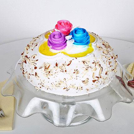 Italian Almond Cake 1kg Eggless
