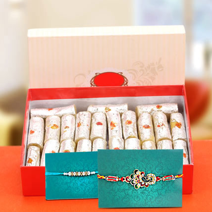 Kaju Rolls And Rakhi Celebrations