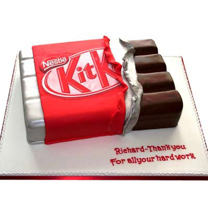 Kit Kat Shaped Cake 3kg