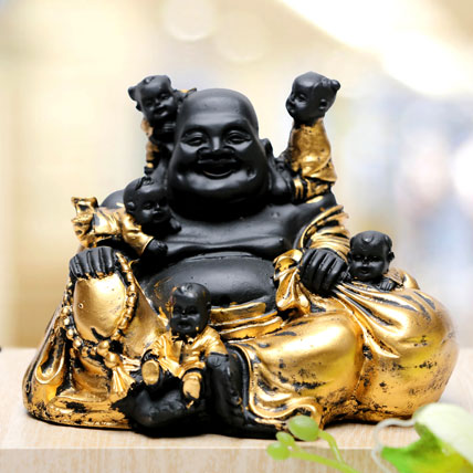 Laughing Buddha With Kids