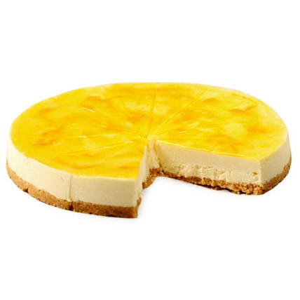 Lemon Cheese Cake 2kg Eggless