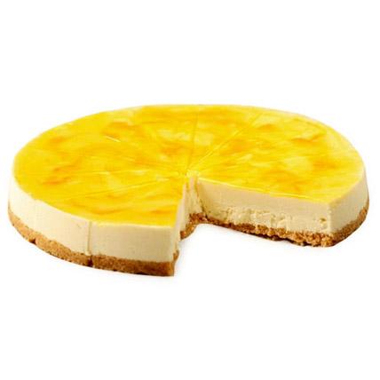 Lemon Cheese Cake 2kg Eggless