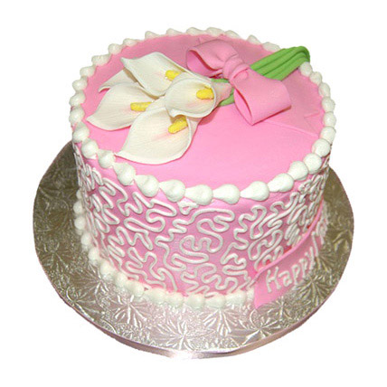 Lily Cake 1kg Eggless