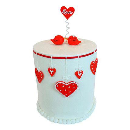 Love Birds Cake 5kg