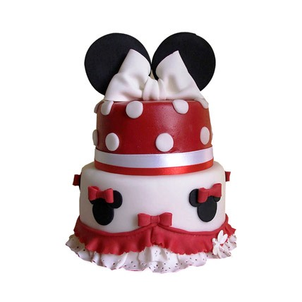 Lovely Minnie Cake 3kg Eggless