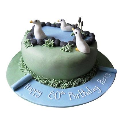 Lovely Swan Cake 3kg Eggless