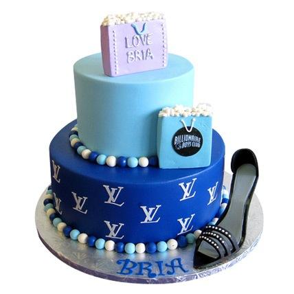 Luxury Brand Cake 5kg Eggless