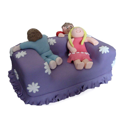 Luxury Couch Cake 3kg