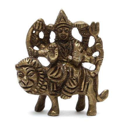Maa Durga Brass Idol