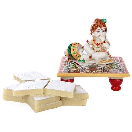 Marble Bal Krishna Combo