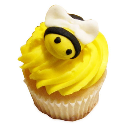 Maya The Bee Special Cupcakes 24 Eggless