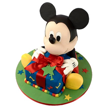 Mickey Mouse Theme Cake 5kg Eggless