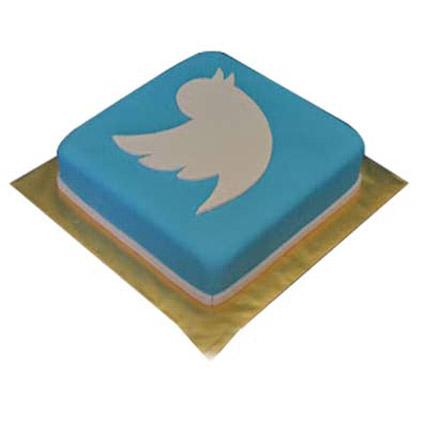Mind boggling Twitter Cake