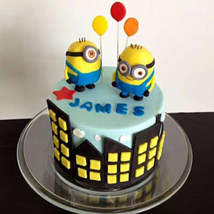 Minions with balloons 4kg