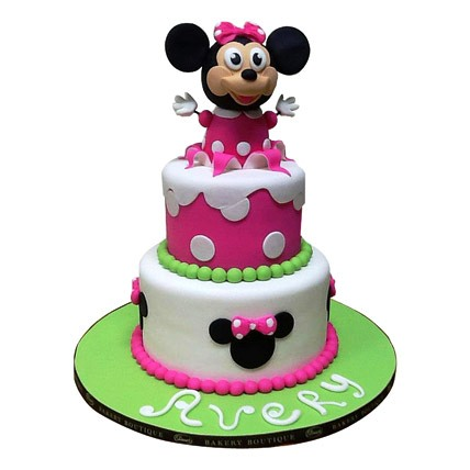 Minnie Mouse Cake 4kg Eggless