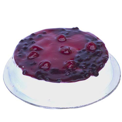 Mixed Berry n Cream Cake 1kg Eggless