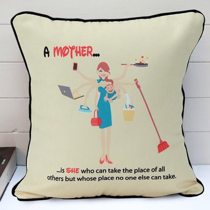 Multi Tasking Mum Cushion