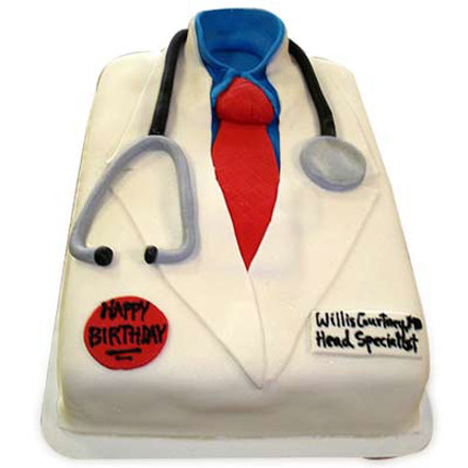 Mushy Doctor Cake 2kg Eggless