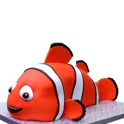 Nemo Cake 4kg Eggless