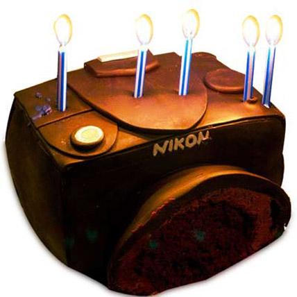 Nikon Sporty Camera Cake 2kg