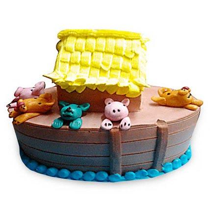 Noahs Ark Cake 3kg