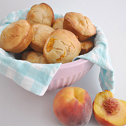 Peach Swirl Muffins 6 | Gift Peaches n Cream Muffins 6 ...