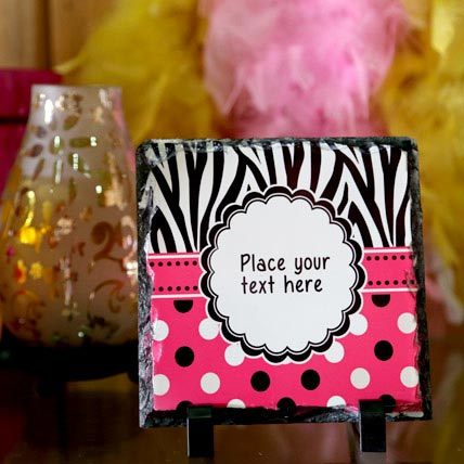 Personalized Message Plaque
