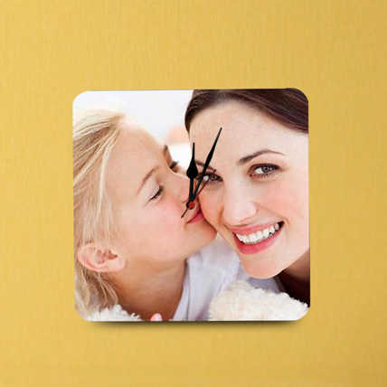 Personalized Mom Wall Clock