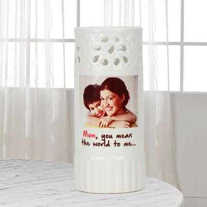 Personalized Mum My World Vase
