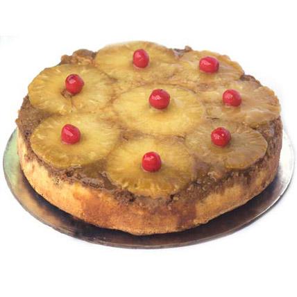 Pineapple Upside Down Cake 2kg Eggless
