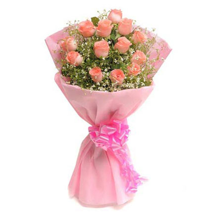 Pink Delight 15 Rose