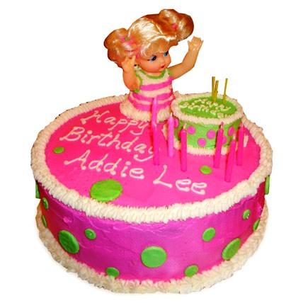 Pink Doll Birthday Cake 4kg