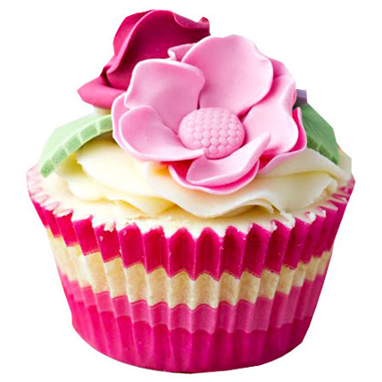 Pink Flower Cupcakes 6