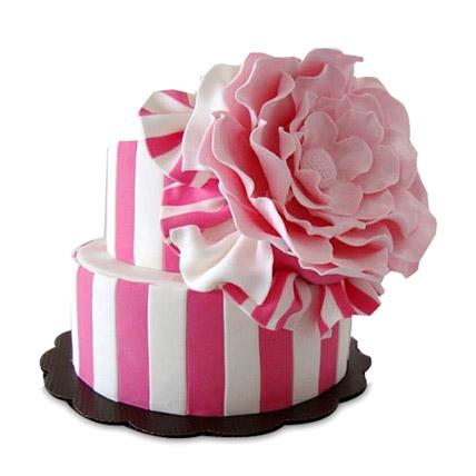 Pink Flowery Cake 5kg