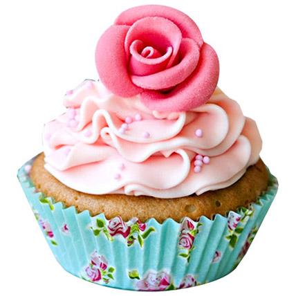 Pink Rose Cupcakes 24