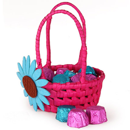 Pretty Pink Assorted Basket